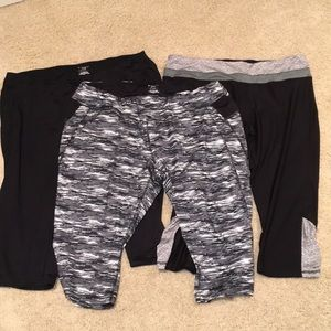 Pants - 3 pairs of workout pants. 3X